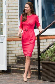 Kate Middleton - Kate Middleton Visits a Counseling Program