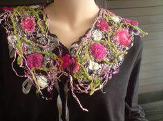 crazy wool #collar