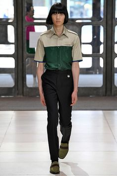 Xander Zhou | Menswear - Spring 2019 | Look 33