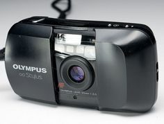 This was a great 1990s film pocket camera. Its lens was sharp and contrasty, and it was light and rugged.    Olympus Infinity Stylus by Peter M Lerman, via Flickr