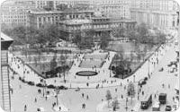 Aerial view, 1941, New York City Parks Photo Archive