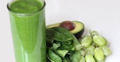 "Recipe: Slim-Down Smoothie Secret – Sweet Green Smoothie is a Filling, Fat-burning Meal Ingredients (Serves 1; 296 calories) 2 cups spinach leaves, packed 1 ripe pear, peeled, cored, and chopped 15 green or red grapes 6 ounces fat-free plain Greek yogurt 2 tablespoons chopped avocado 1 or 2 tablespoons fresh lime juice   Source:  Leta Shy<a href=""http://www.drinkmehealthy.com/recipe-slim-down-smoothie-secret-sweet-green-smoothie-is-a-filling-fat-burning-meal/..."