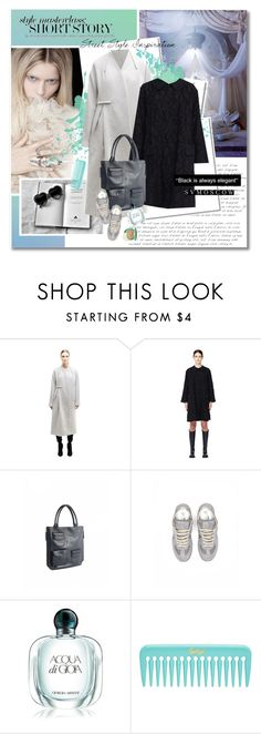 """""""Short story"""" by undici ❤ liked on Polyvore featuring Kershaw, DAMIR DOMA, Marni, Maison Margiela, Armani Beauty and Clinique"""