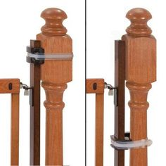 Summer Banister to Banister Universal Gate Mounting Kit – Fits Round or Square Banisters, Accommodates Most Hardware & Pressure Mount Baby Gates up to Tall, Gate Sold Separately Baby Gate For Stairs, Stair Gate, Baby Gates, Dog Gates, Baby Safety, Child Safety, Baby Barrier, Pet Gate, Home Safes