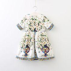 Rome Flowers Dress