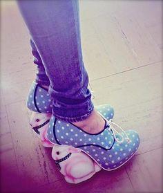 Irregular Choice _ Flopsy heels