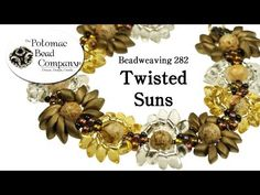 Video: Make a 'Twisted Suns' Bracelet - #Seed #Bead #Tutorials