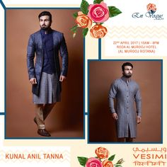 Let your style speak for yourself ... Kunal Anil Tanna Showcasing @vesimi @envoguebyaajk on 22nd April '17 at Roda Al Murooj Hotel, (Al Murooj Rotana) Dubai from 10am to 8pm ... #vesimi #vesimilounge #envoguebyaajk #kunalaniltanna #bethere #dontmissout #fabulous #chic #menswear #mensfashion #gentleman #designerscollection #instastyle #instafashion #designerwear #weddingwear #fashion #fashionexhibition #eveningwear #lotsmore #comeandshop #shopping #funshopping #dubai #uae #happyshopping