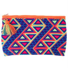 Cauca Clutch - Wayuu Bags   Chila Bags