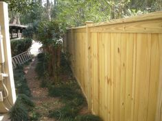 Wood Fence 6 To 4 Iron Fence Fence Transition Fence