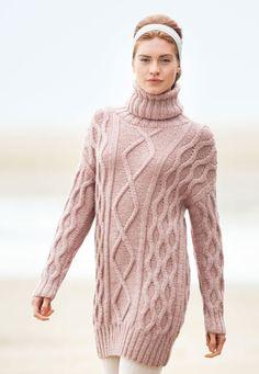 Lana Grossa LONGPULLI Alta Moda Alpaca - FILATI Handstrick No. 65 - Modell 18…