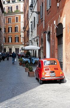 Back Streets of Rome, Italy