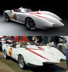 Speed Racer  Mach 5 , my child hood favorite car