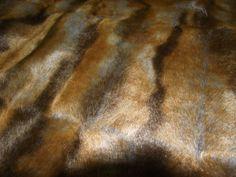 Super Luxury Faux Fur Fabric Material - GINGER DEER