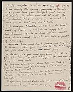 Citation: Frida Kahlo, Paris, France letter to Nickolas Muray, New York, N.Y., 1939 Feb. 27 . Nickolas Muray papers, Archives of American Art, Smithsonian Institution.