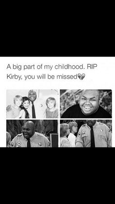 Aw :( RIP Kirby. I didn't know he died