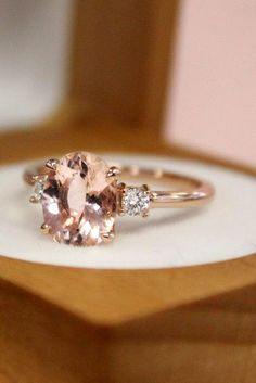 Three Stone Engagement Rings You Will Want ❤ See more: http://www.weddingforward.com/three-stone-engagement-rings/ #weddin