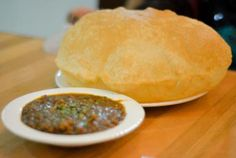 How to Make Bhatura: Leavened Fried Indian Bread: Freshly made Bhatura!