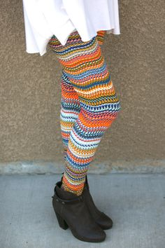 Bright Chain Link Leggings White Plum, Cool Style, My Style, Tribal Prints, Clubwear, Leg Warmers, Wardrobe Staples, Girl Fashion, Classy