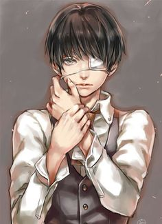 Tokyo Ghoul ~~ Trapped between two worlds and not fitting into either one. This boy needs a hug. :: Kaneki Ken