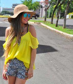 blusa ciganinha amarela1