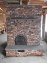 Envirotech Classic Masonry Heater- Empire Maonsry heaters, Inc. Scottsville, NY (585)889-2002.  Kits and custom design.