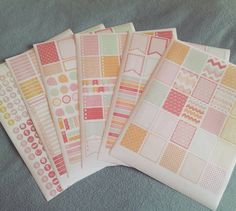 Finally printed out some of my first printable planner stickers. I am saving SO MUCH MONEY by printing them out myself. I could never afford to keep doing this if I had to keep buying them printed and having them shipped. And I found so many free printable sticker designs. I only actually bought a couple. The rest I got for free from so many kind planner lovers who are willing to share what they've made.  This set was one of the ones I did buy. It was a whole monthly set for $4. (There's…