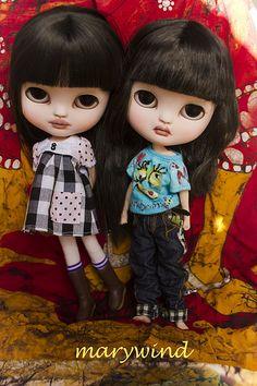 Xin y Yuki wish you a good day : ))   by Marywind