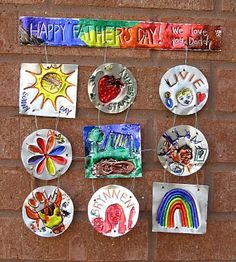 plumpudding: Metal Tooling and Father's Day: Not For Daddy To Read! Fathers Day Poems, Cool Fathers Day Gifts, Fathers Day Cards, Happy Fathers Day, Crafts To Do, Crafts For Kids, Father Birthday Gifts, Class Art Projects, Diy Christmas Gifts