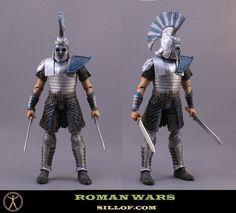 Roman Wars: Captain Recksus by sillof.deviantart.com