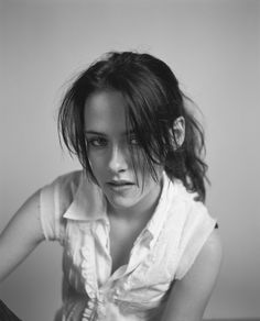 "Kristen Stewart photographed by Brigitte Sire in a photo shoot for ""nylon"" magazine 2006........."