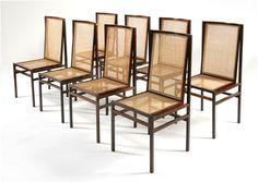 """Joaquim Tenreiro """"Itamaraty"""" chairs (1965)"""