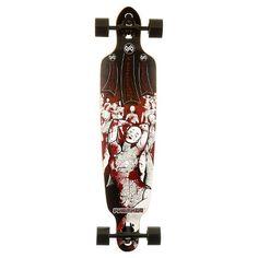 "Punisher Skateboards Mannequin 40"" Longboard White : Target"