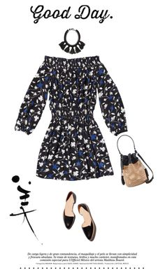 """""""It's all good."""" by lorihopes ❤ liked on Polyvore featuring Amour Vert, Loeffler Randall and Cocoa"""