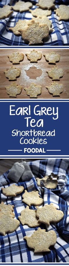 How about a fresh cup of tea? And some crunchy cookies? This time, you can have all at once with this delicious shortbread recipe. It comes with a hint of Earl Grey bergamot flavor and a buttery taste. Read on for some gorgeous little tea time treats. http://foodal.com/recipes/desserts/earl-grey-tea-flavored-shortbread-cookies/