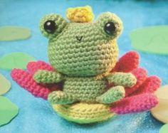 Царевна Лягушка - амигуруми
