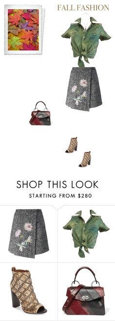 """Unbenannt #6791"" by pretty-girl-in-fashion ❤ liked on Polyvore featuring Blumarine, Balenciaga, Calvin Klein, Proenza Schouler, Lulu Frost, CalvinKlein, blumarine, proenzaschouler and fallfashion"