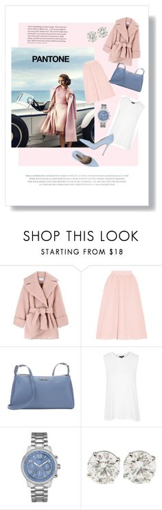 """""""7"""" by favorite-cake ❤ liked on Polyvore featuring Carven, Emilia Wickstead, Fendi, Topshop, GUESS and Norma J.Baker"""