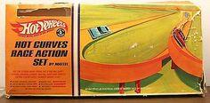 1968 Mattel Hot Wheels Hot Curves Race Action Set | eBay