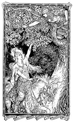 Illustration as it used to be... - 'The Olive Fairy Book' edited by Andrew Lang…