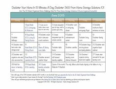 Want to get your home decluttered? Grab your free copy of the printable June 2015 declutter calendar with daily 15 minute missions {courtesy of Home Storage Solutions 101}