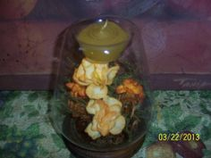 Candle Handcrafted in a Beautifully Floral by NAESBARGINBASEMENT, $10.00
