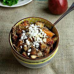 Winter Quinoa Salad HealthyAperture.com