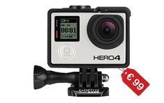 Scopri come acquistare una GoPro Hero 4 Black a soli 99 €! Studia la tua strategia, divertiti e risparmia. Partecipare è gratis! Clicca su www.embyrace.com