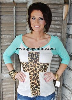 a44f46e58bed Giddy Up Glamour www.gugonline.com $21.95 Dare My Heart To Be Wild Mint