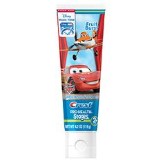 Crest Pro-Health Stages Kids Toothpaste featuring Disney Pixar Cars and Planes with Disney MagicTimer App by Oral-B Fruit Burst - Timer App, Kids Toothpaste, Images Disney, Dental Supplies, Body Powder, Disney Pixar Cars, Halloween Disfraces, Oral Hygiene, Disney Magic