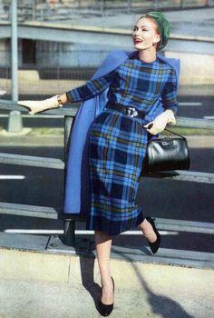 Fashion for Vogue, September 1957.
