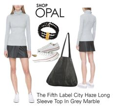 """""""SHOP - OPAL"""" by ladymargaret ❤ liked on Polyvore featuring The Fifth Label, Satya, J.J. Winters and Converse"""