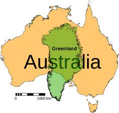 List of islands by area - Wikipedia, the free encyclopedia...Australia is often considered the world's largest island, but it is also considered a continent. Other than Australia, Greenland is the world's largest island.