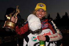 Funny Car Pilot Courtney Force hopes that people take notice of the NHRA after her win in Pomona. (NHRA Media Photography)